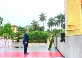 Đoàn Nguyên thủ các quốc gia quý III 2017