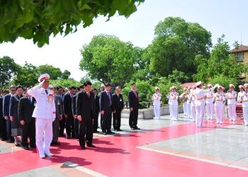 Đoàn Nguyên thủ các quốc gia quý II 2016